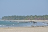 Ngwe Saung Beach seen from Lovers Island