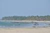 Ngwe Saung Beach seen from Lovers Island