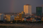 Rainbow over Phnom Pehn