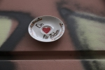 Heart in a saucer