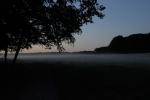 Mist after sunset