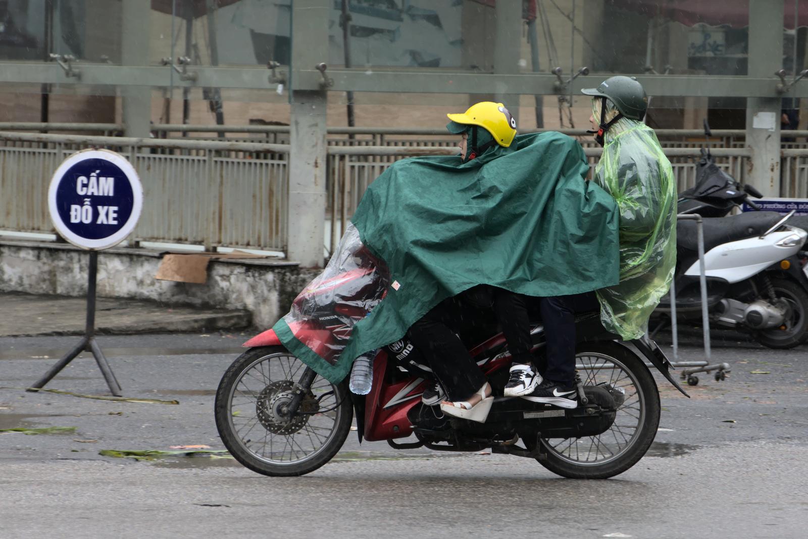 Hanoi in the Rain