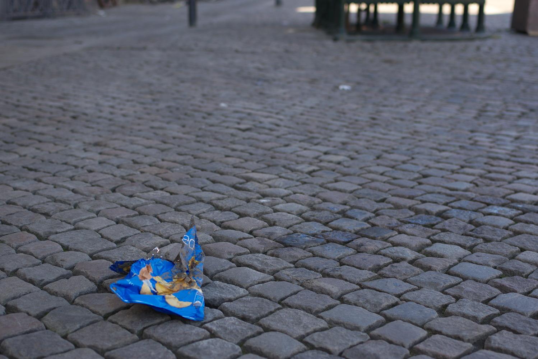 Litter in Copenhagen