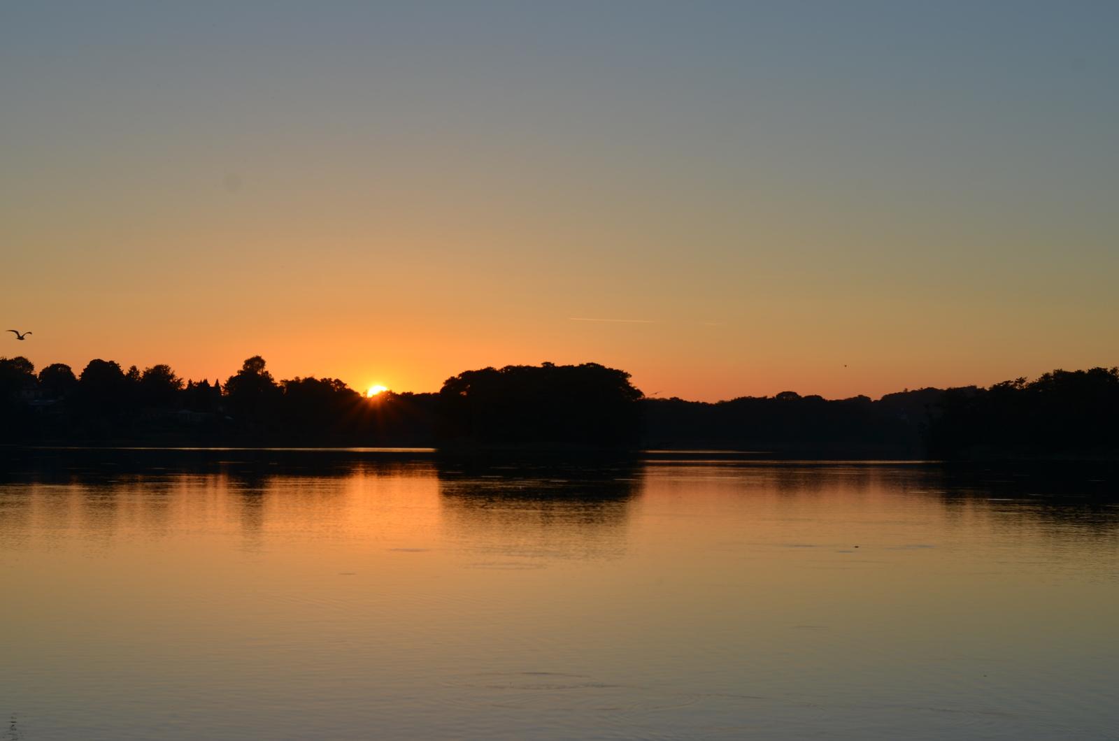 Weekend ved Lyngby sø